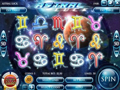 Astral Luck Slot Review