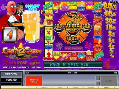 Cash 'n' Curry Slot Review