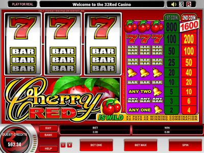 Cherry Red Slot Review