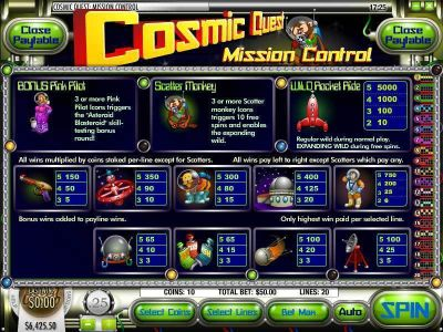 Cosmic Quest Episode One Slot Review