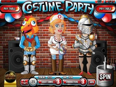 Costume Party Slot Review