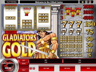 Gladiator's Gold Slot Review