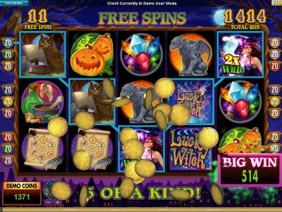 Lucky Witch Slot Review