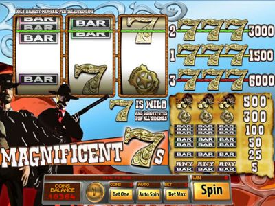 Magnificent 7s Slot Review