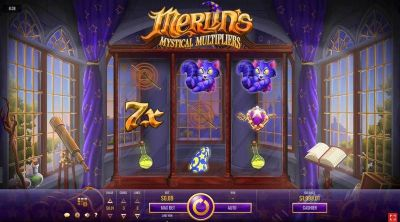 Merlin's Mystical Multipliers Slot Review