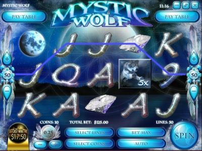 Mystic Wolf Slot Review