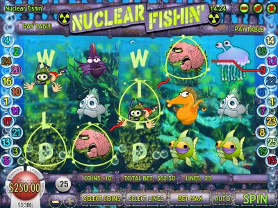 Nuclear Fishin Slot Review