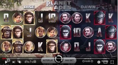 Planet of Apes Slot Review