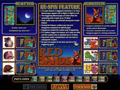 Red Sands Slot Review