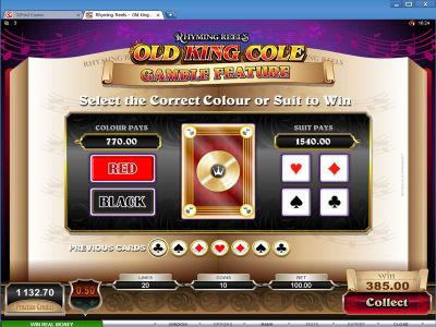 Rhyming Reels - Old King Cole Slot Review