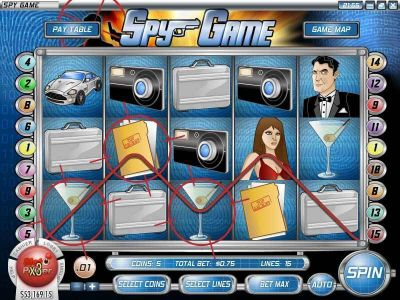 Spy Game Slot Review