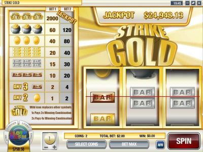 Strike Gold Slot Review