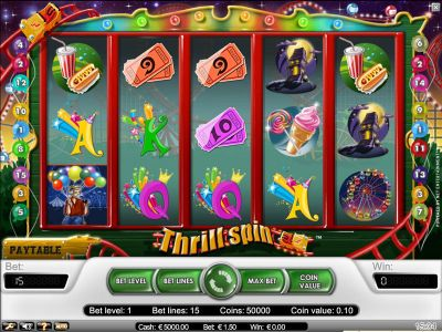 Thrill Spin Slot Review