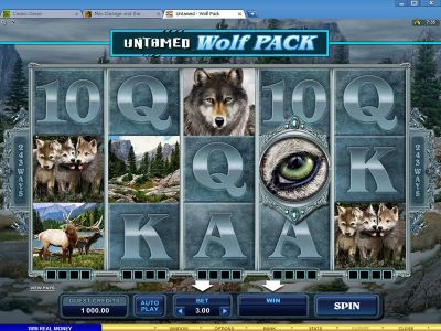 Untamed - Wolf Pack Slot Review