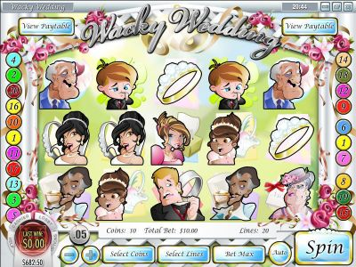Wacky Wedding Slot Review