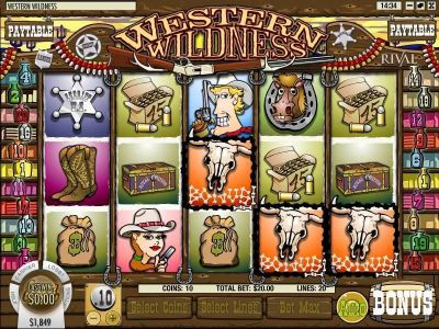Western Wildness Slot Review
