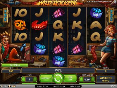 Wild Rockets Slot Review