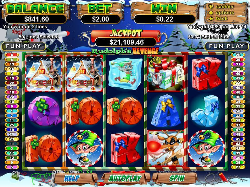 Play Return Of The Rudolph Slot Machine Free With No Download